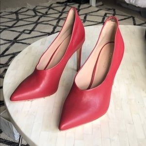 Rachel Zoe Red Heels - worn once!